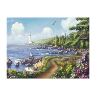 "Alan Giana ""Destiny Point"" Canvas Print"