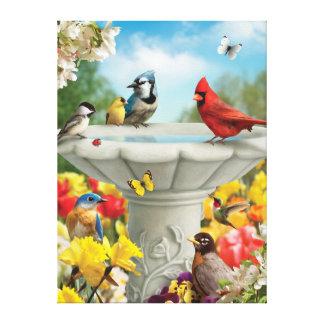 "Alan Giana ""Garden Friends"" Canvas Print"