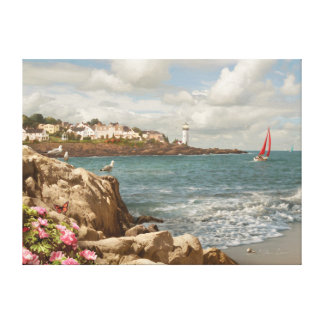 "Alan Giana ""Home by the Sea"" Canvas Print"