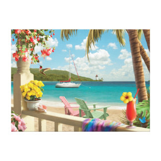 "Alan Giana ""Island Retreat"" Canvas Print"