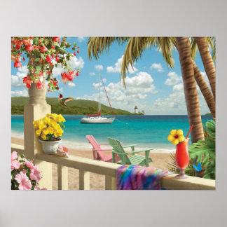"Alan Giana ""Island Retreat"" Poster"