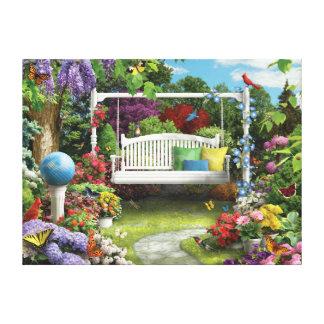 "Alan Giana ""Nature Sings to Me 3"" Canvas Print"