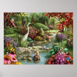 """Alan Giana """"Nature's Embrace"""" Poster"""