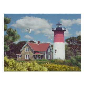 "Alan Giana ""Nauset Light"" Poster"
