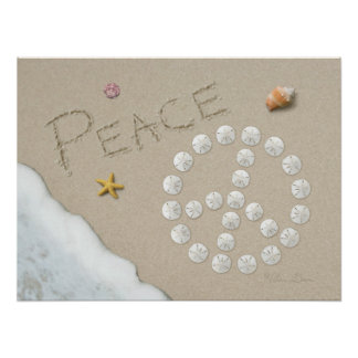 "Alan Giana ""Peace Sign"" Poster"