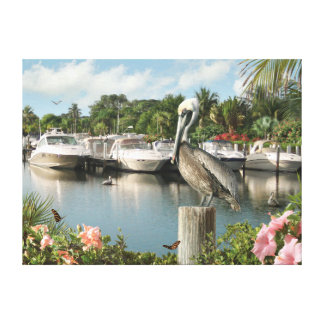 "Alan Giana ""Pelican Cove"" Canvas Print"