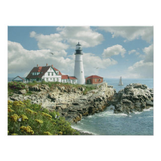"Alan Giana ""Portland Head Light"" Poster"