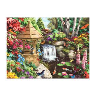 """Alan Giana """"Secret Garden"""" Canvas Print"""