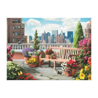 "Alan Giana ""Skyline 2"" Canvas Print"
