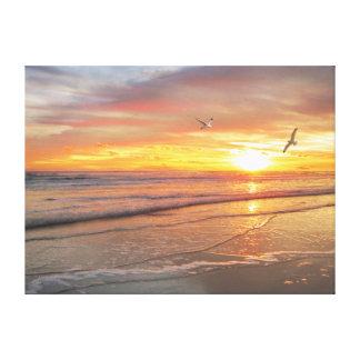 "Alan Giana ""Sunrise Shore"" Canvas Print"