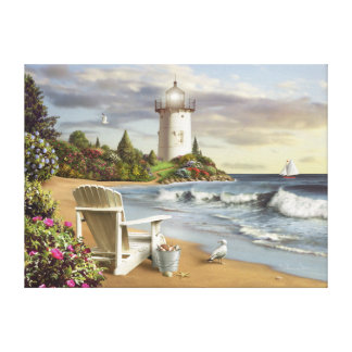 """Alan Giana """"The Perfect Place"""" Canvas Print"""