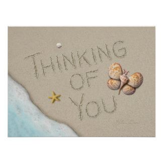 "Alan Giana ""Thinking of You"" Poster"