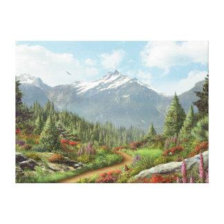 """Alan Giana """"To the Mountain"""" Canvas Print"""