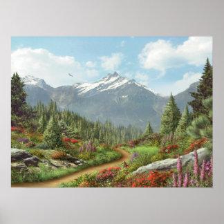 """Alan Giana """"To the Mountain"""" Poster"""