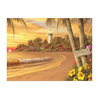 "Alan Giana ""Tropical Love"" Canvas Print"