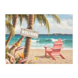 "Alan Giana ""Welcome to Paradise"" Canvas Print"