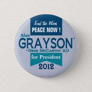 Alan Grayson for President 2 Inch Round Button