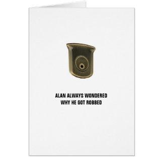 Alan Key Birthday Card