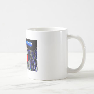 Alan Partridge Lapdance Drawing Coffee Mug