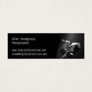 Alan Snodgrass, Digital Diversion Mini Business Card