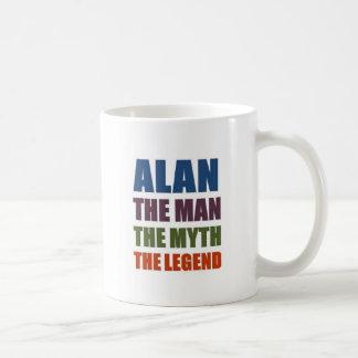 Alan the man, the myth, the legend coffee mug