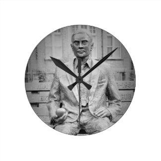 Alan Turing, OBE. The Father of Modern Computing Wall Clocks