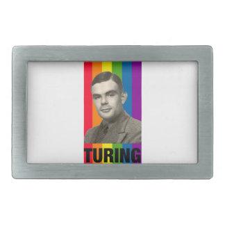 Alan Turing Rectangular Belt Buckle