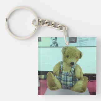 Alan Turing's teddy bear Keychain