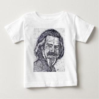 ALAN WATTS - ink portrait Baby T-Shirt
