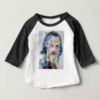 alan watts - watercolor portrait.3 baby T-Shirt