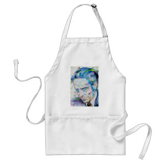 ALAN WATTS - watercolor portrait.5 Standard Apron