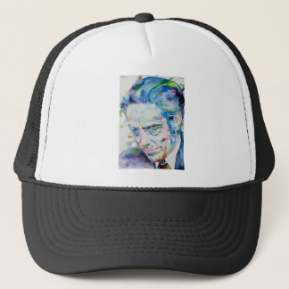 ALAN WATTS - watercolor portrait.5 Trucker Hat