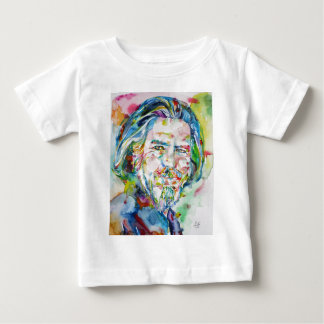 ALAN WATTS - watercolor portrait.6 Baby T-Shirt