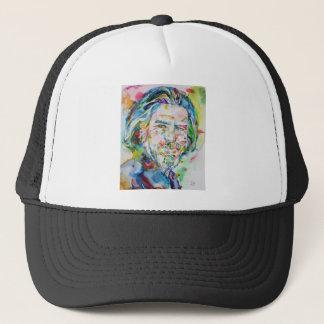 ALAN WATTS - watercolor portrait.6 Trucker Hat