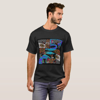Alanart abstract attention t-shirt