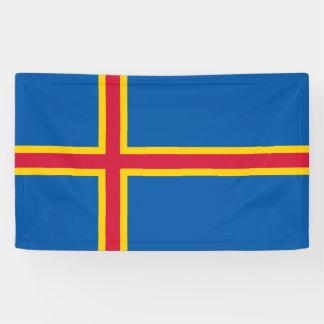 Aland Islands Flag Banner