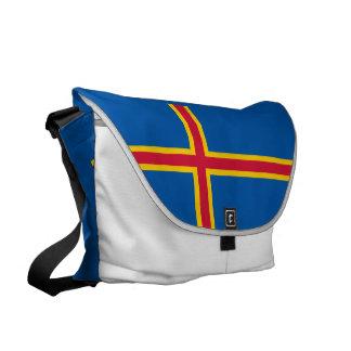 Aland Islands Flag Commuter Bags
