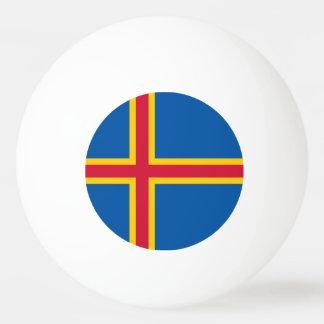 Aland Islands Flag Ping Pong Ball