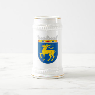 Aland Official Coat Of Arms Heraldry Symbol 18 Oz Beer Stein