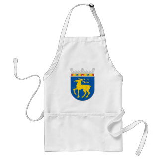 Aland Official Coat Of Arms Heraldry Symbol Adult Apron