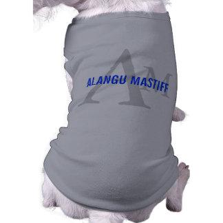 Alangu Mastiff Breed Monogram Dog T Shirt