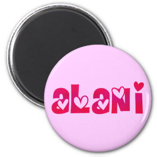 Alani in Hearts Magnet