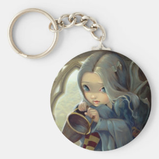 """Alannah and the Gargoyle"" Keychain"
