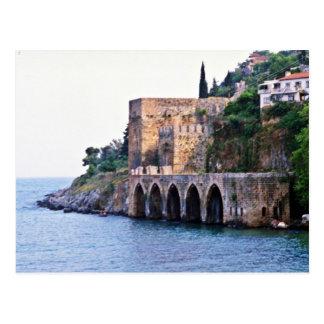 Alanya - The Tersane Or Dockyard Postcard