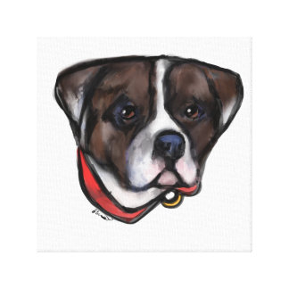 Alapaha Blue Blood Bulldog Canvas Print