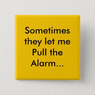 alarm 2 inch square button