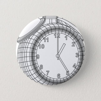 alarm clock 2 inch round button
