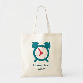 Alarm Clock Home school Mom Tote Bag