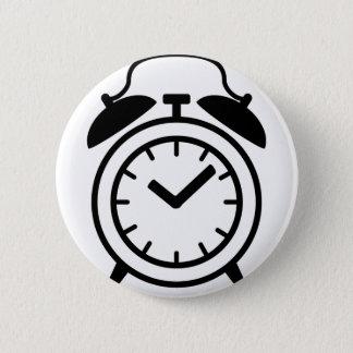 alarm clock icon 2 inch round button