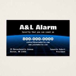 Alarm Security Tech Business Card